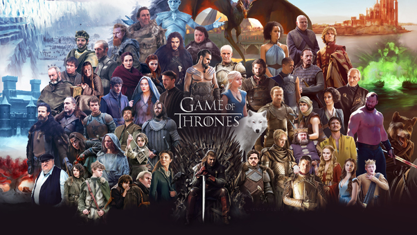 Game Of Thrones All Cast