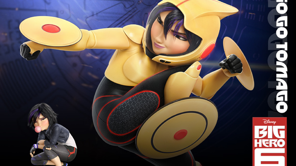 Go Go Tomago In Big Hero 6