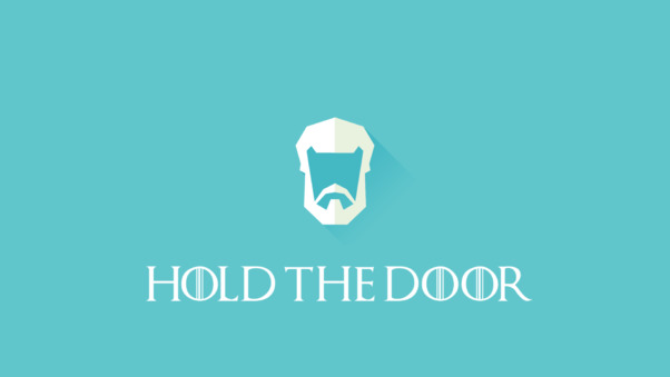 Hold The Door Game Of Thrones
