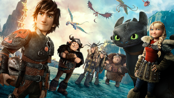 How To Train Your Dragon 2 Movie