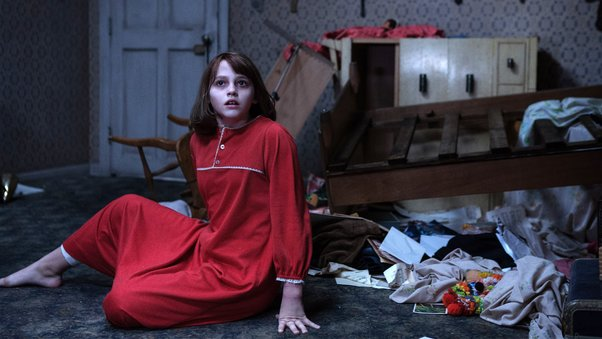 Madison Wolfe In The Conjuring Movie