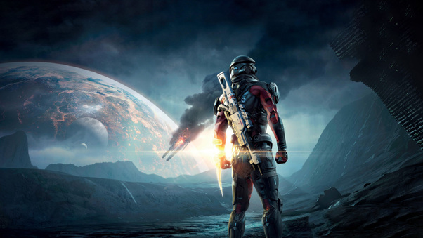Mass Effect Andromeda 4k HD 2016 Game