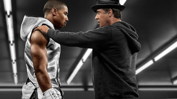 Michael B Jordan And Sylvester Stallone In Creed Movie Hd Movies
