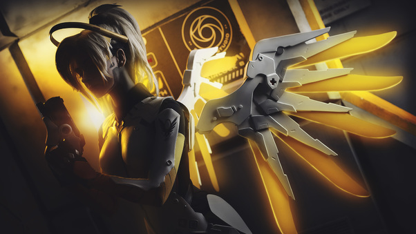 Overwatch Mercy Artwork