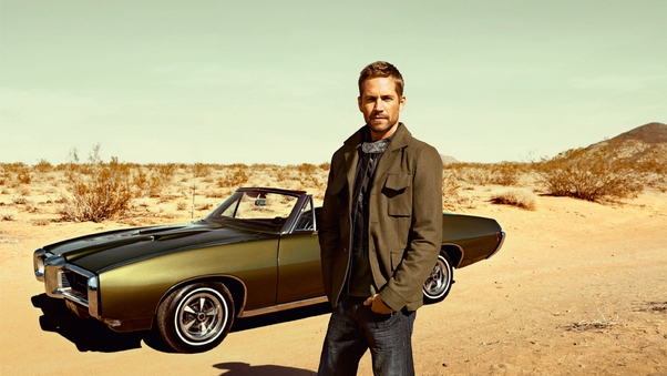 Paul Walker With Cars