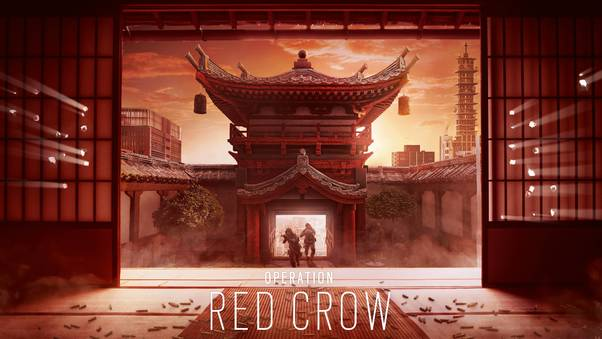 Rainbow 6 Siege Red Crow