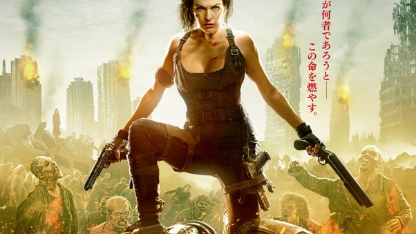 Resident Evil The Final Chapter 2016 Movie