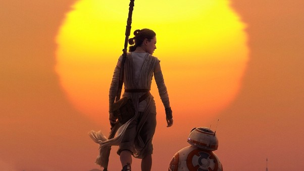 Rey BB8 Star Wars