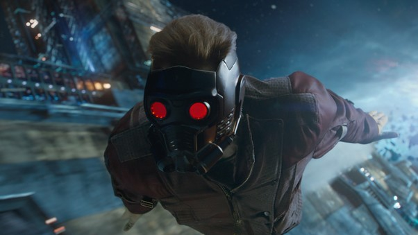 Star Lord Flying