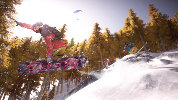 Steep Freeride Forest
