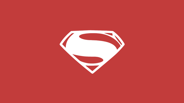 Superman Minimalism Logo