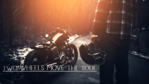 Two Wheels Moves The Soul
