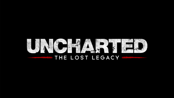 Uncharted The Lost Legacy Logo 4k