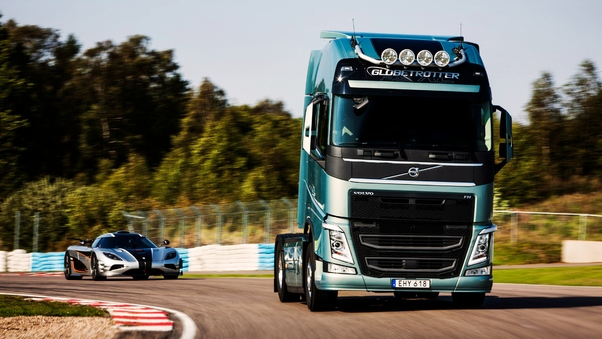Volvo Truck And Car