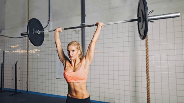 Weight Lifting Girl