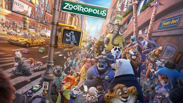 Zootopia Movie New