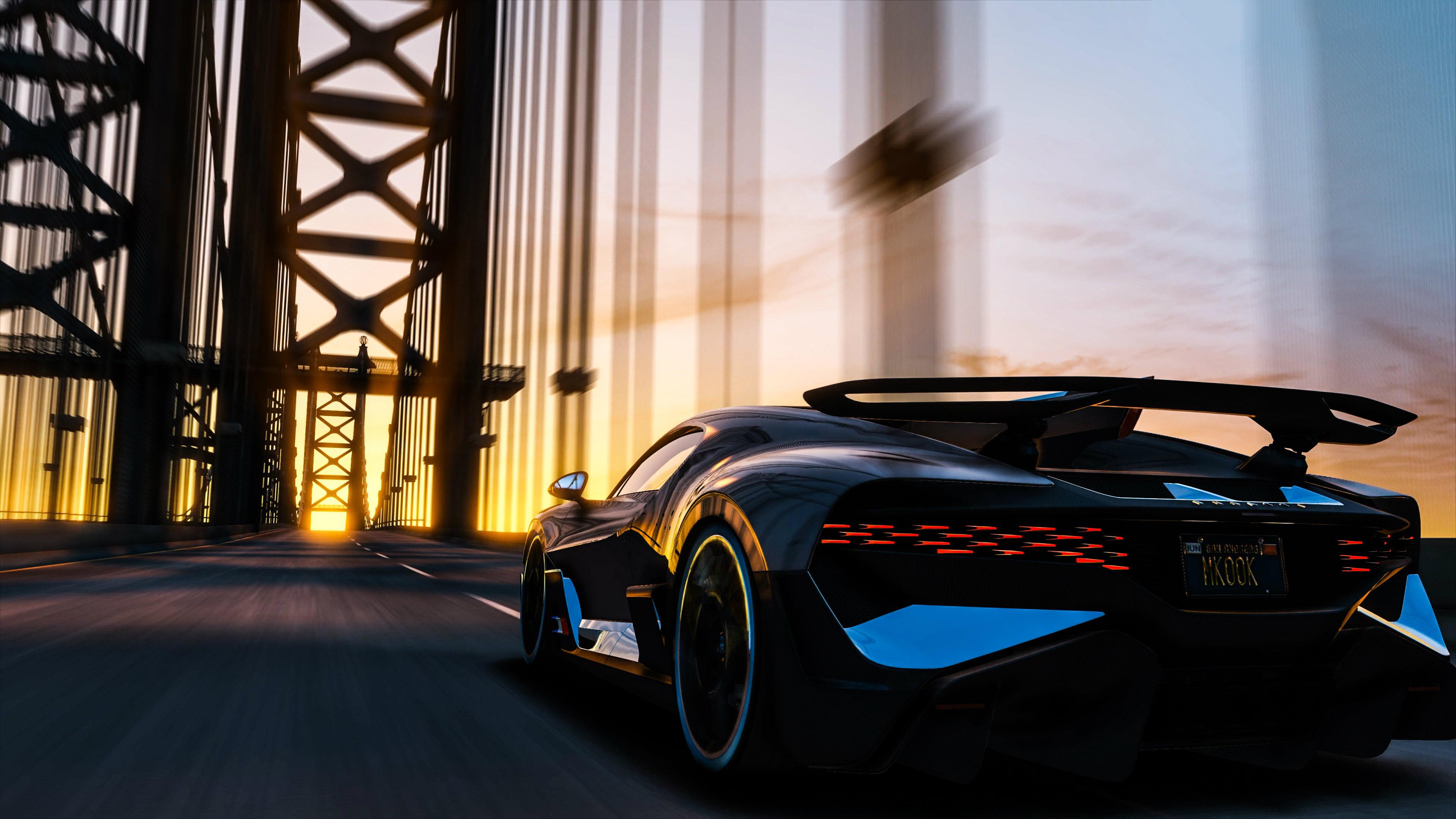 Bugatti Divo Bridge 4k Hd Cars 4k Wallpapers Images Backgrounds