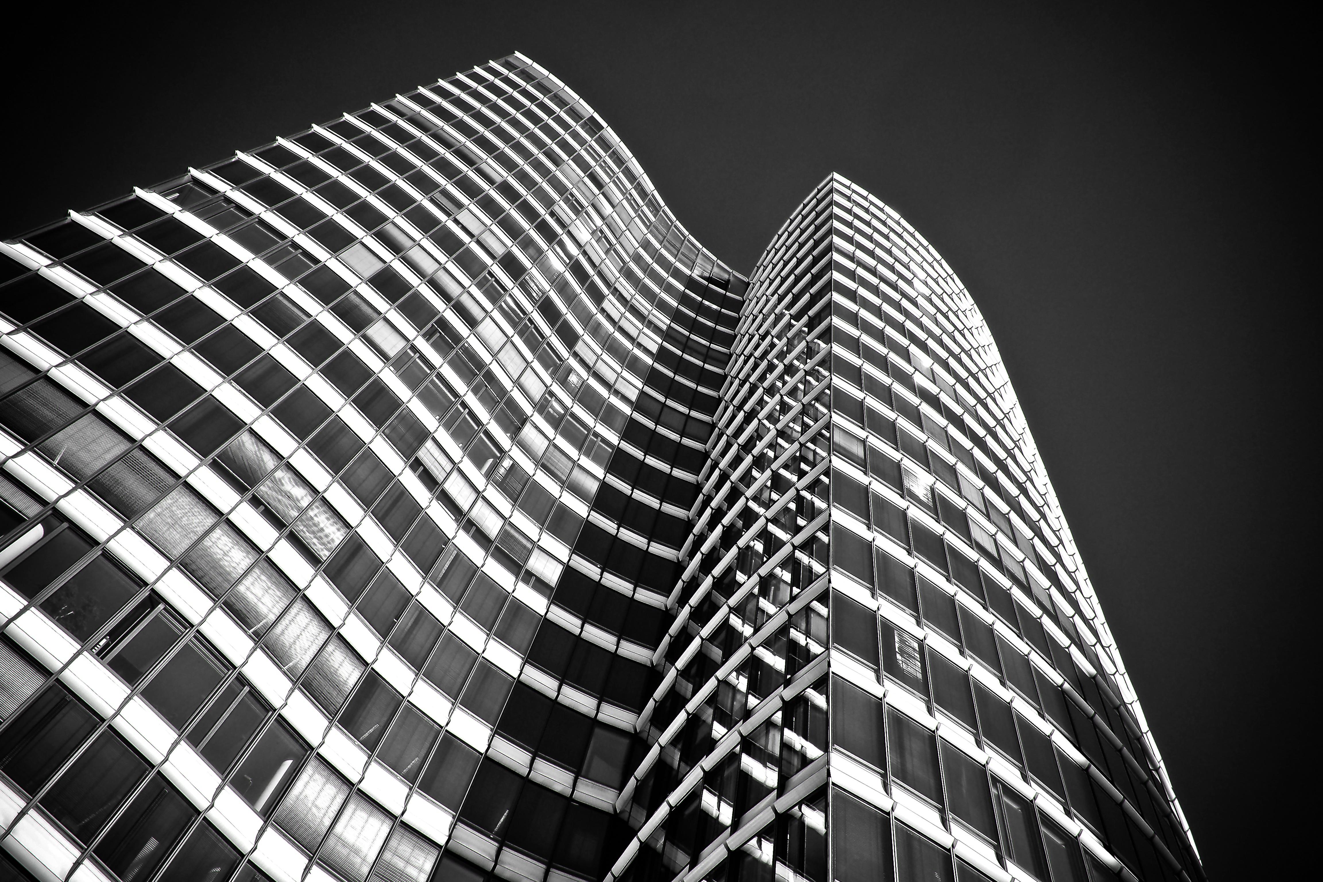 Buildings Architecture Monchrome 4k, HD Others, 4k