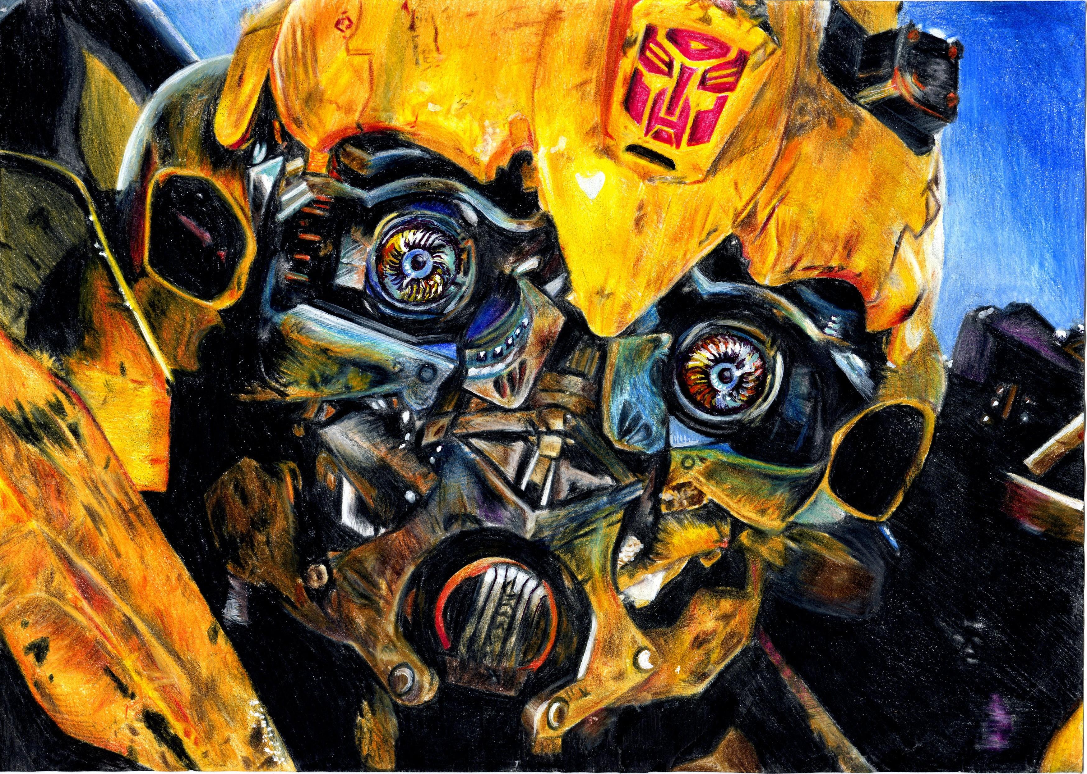 Bumblebee Artwork 4k Hd Artist 4k Wallpapers Images Backgrounds