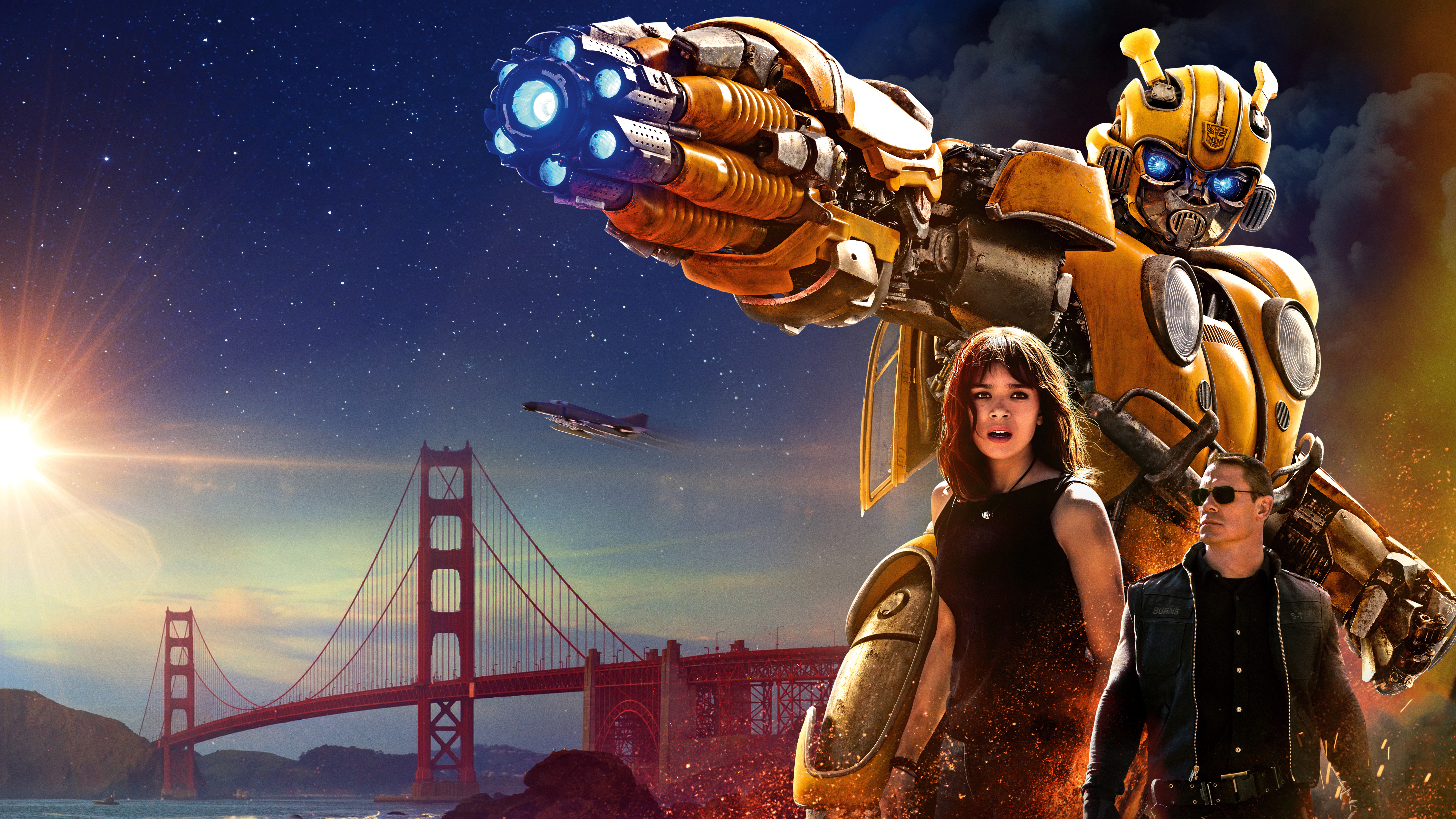 Bumblebee Movie Poster 2018 Hd Movies 4k Wallpapers