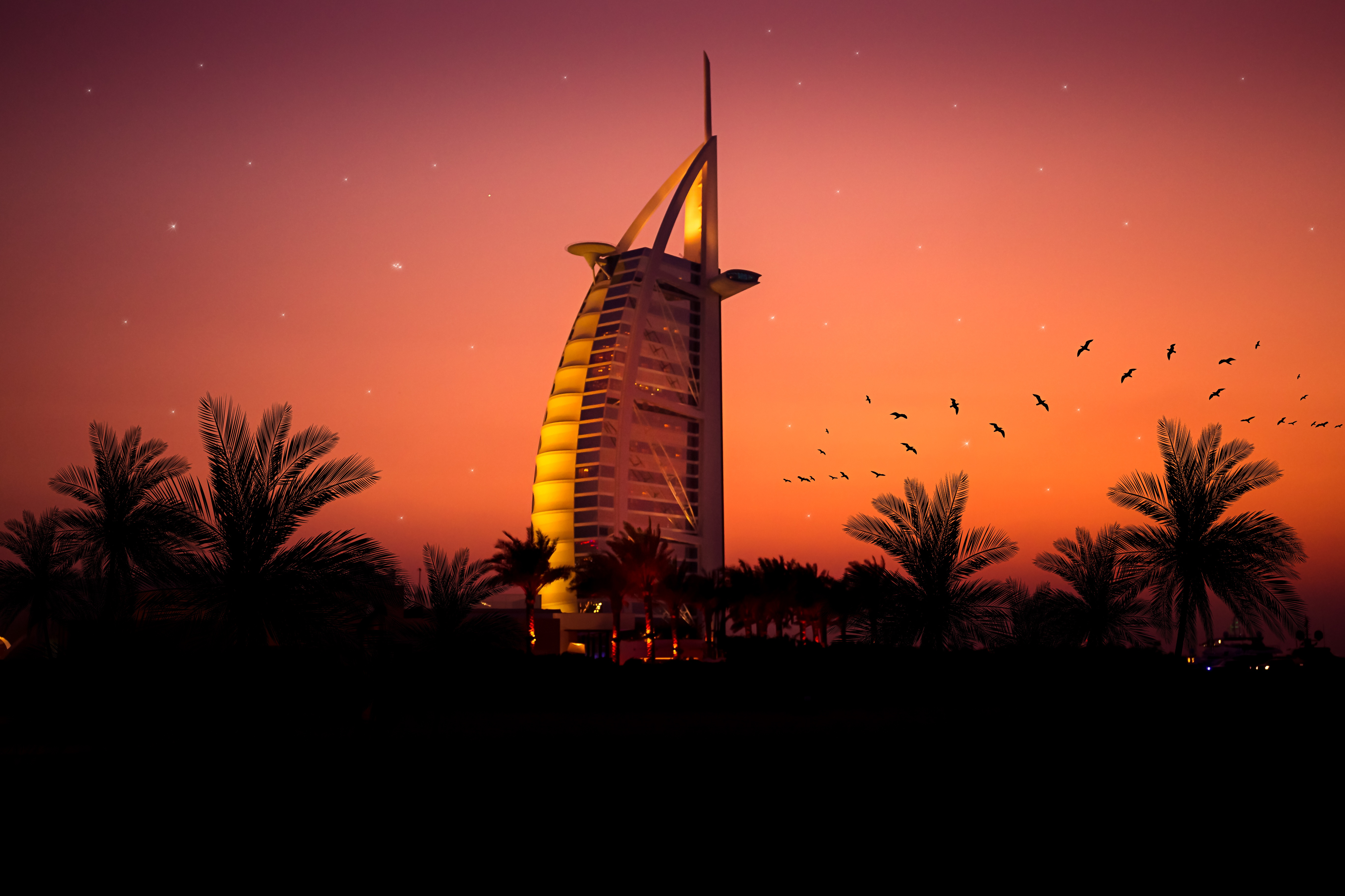Burj Al Arab, HD World, 4k Wallpapers, Images, Backgrounds, Photos and Pictures