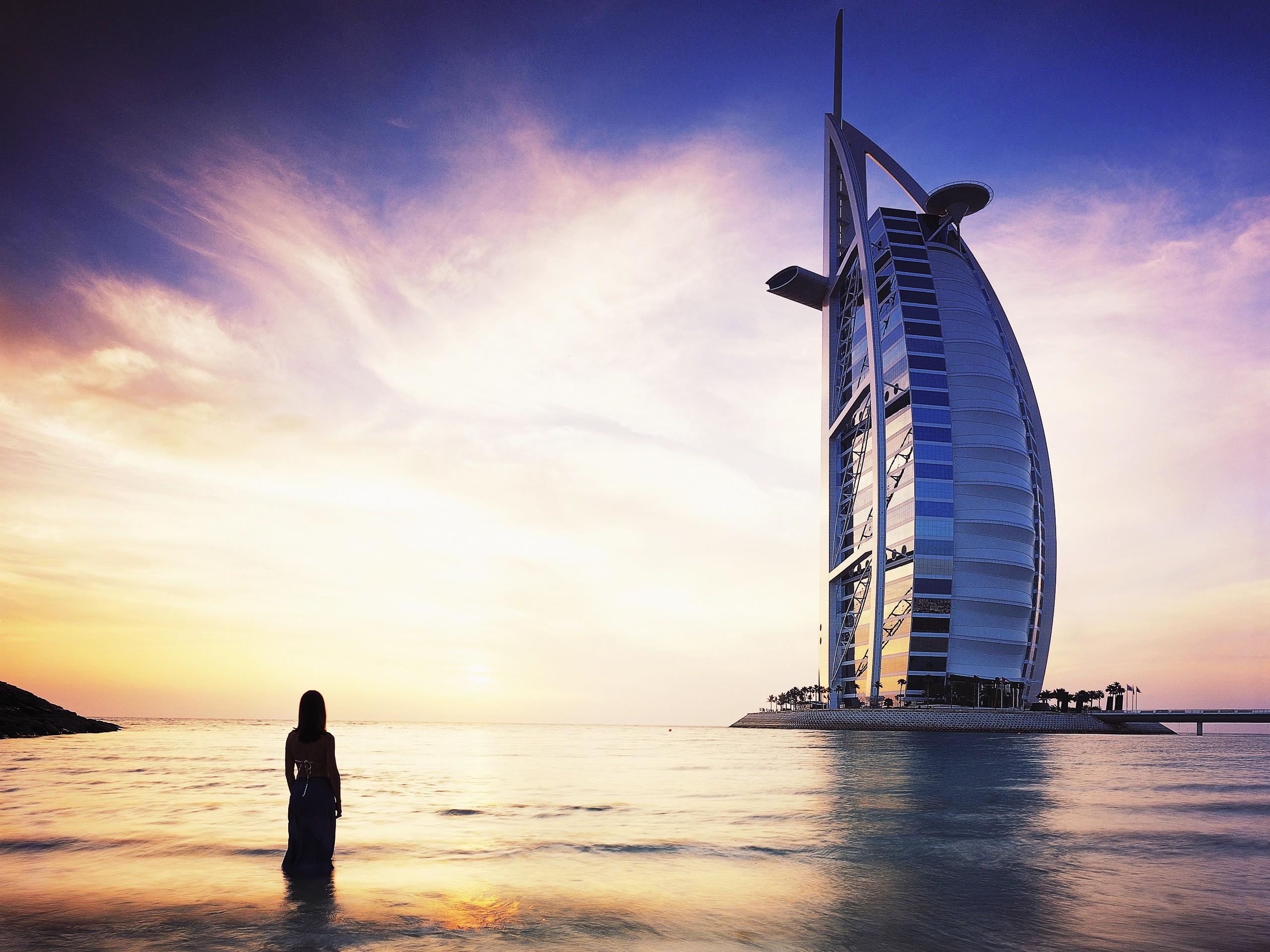Burj Al Arab Dubai, HD World, 4k Wallpapers, Images