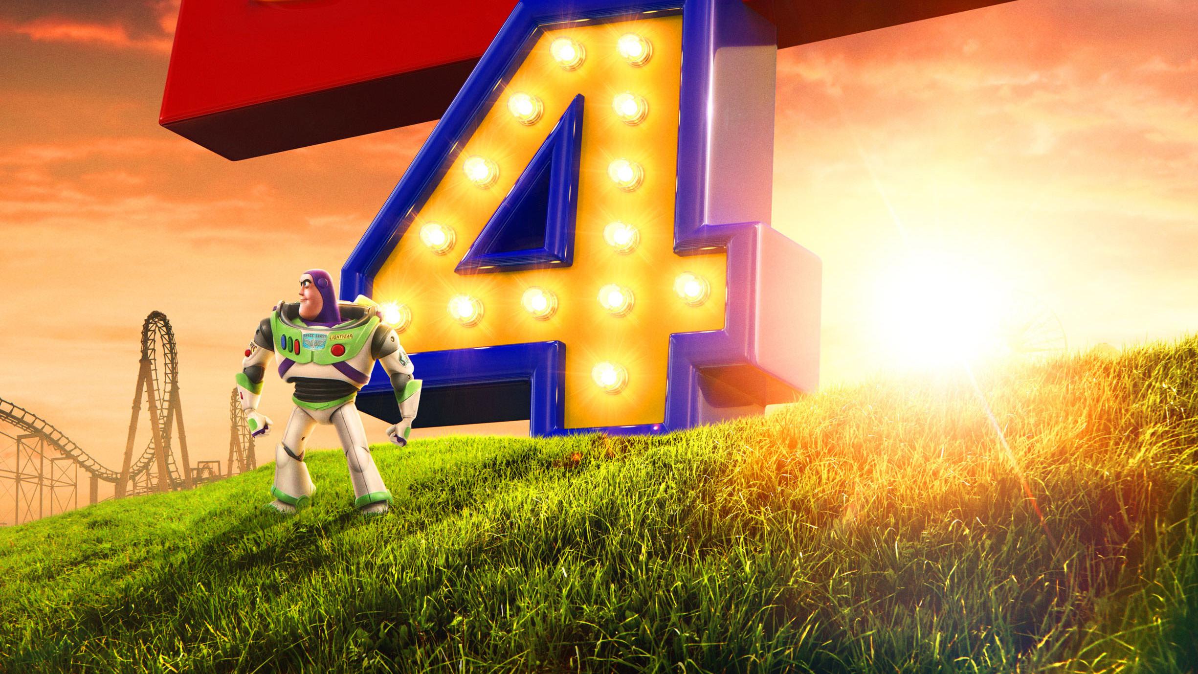 Buzz Lightyear In Toy Story 4 2019, HD Movies, 4k ...