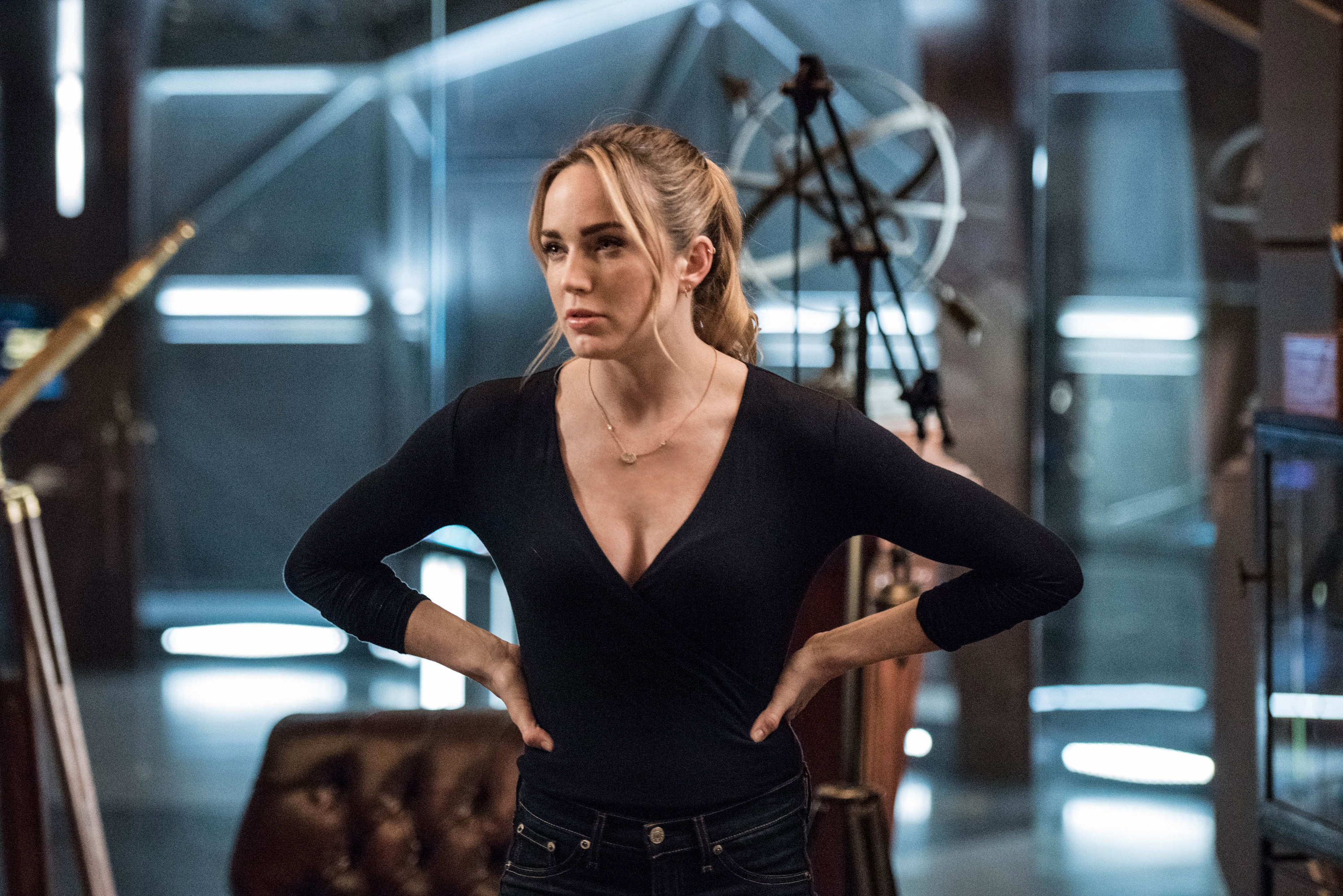 Dc S Legends Of Tomorrow Wallpaper And Background Image: Caity Lotz In Legends Of Tomorrow Season 3 2018, HD Tv