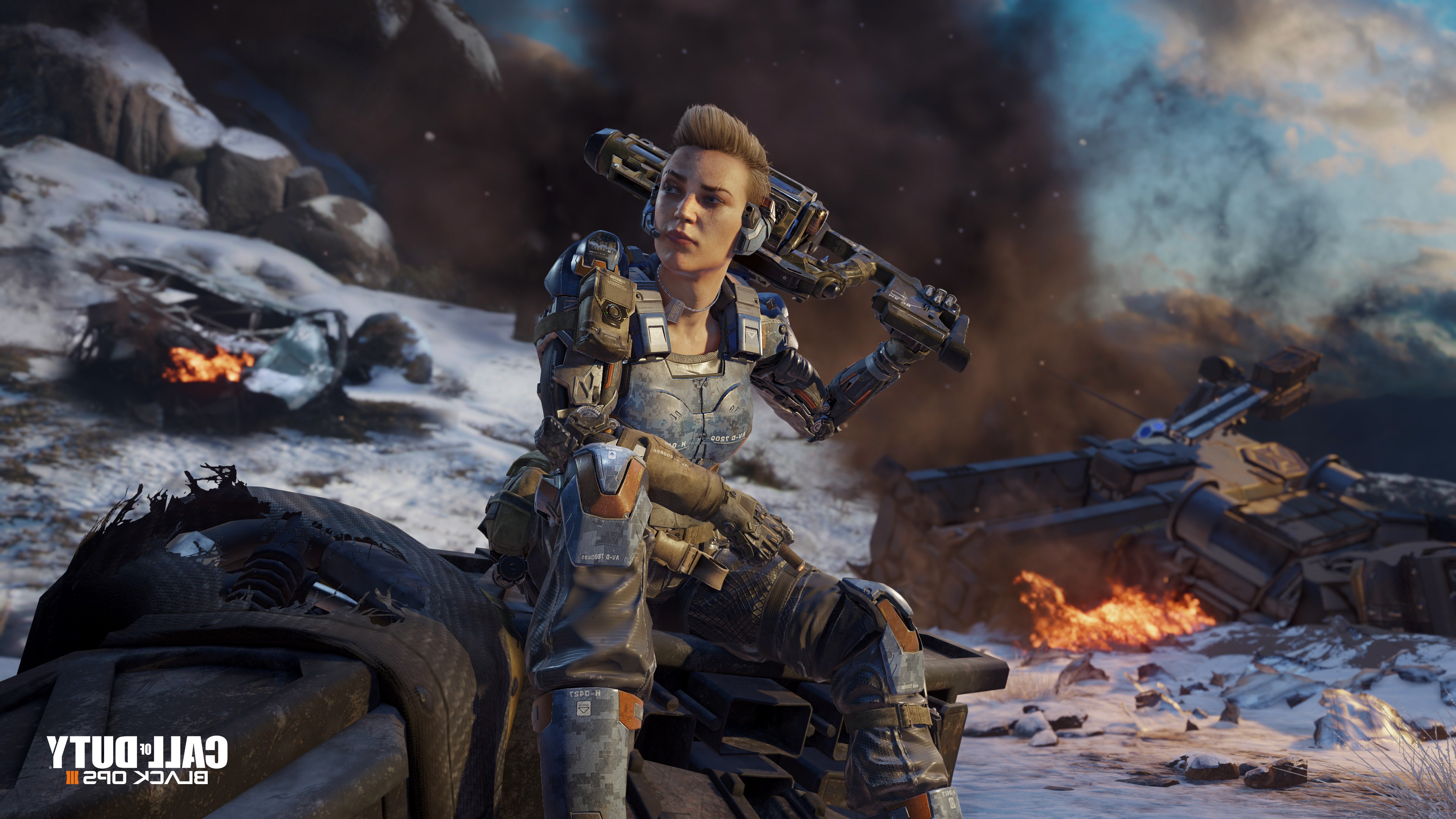 Call Of Duty Black Ops 3 Hd Wallpapers: 2048x1152 Call Of Duty Black Ops 3 Game 2048x1152