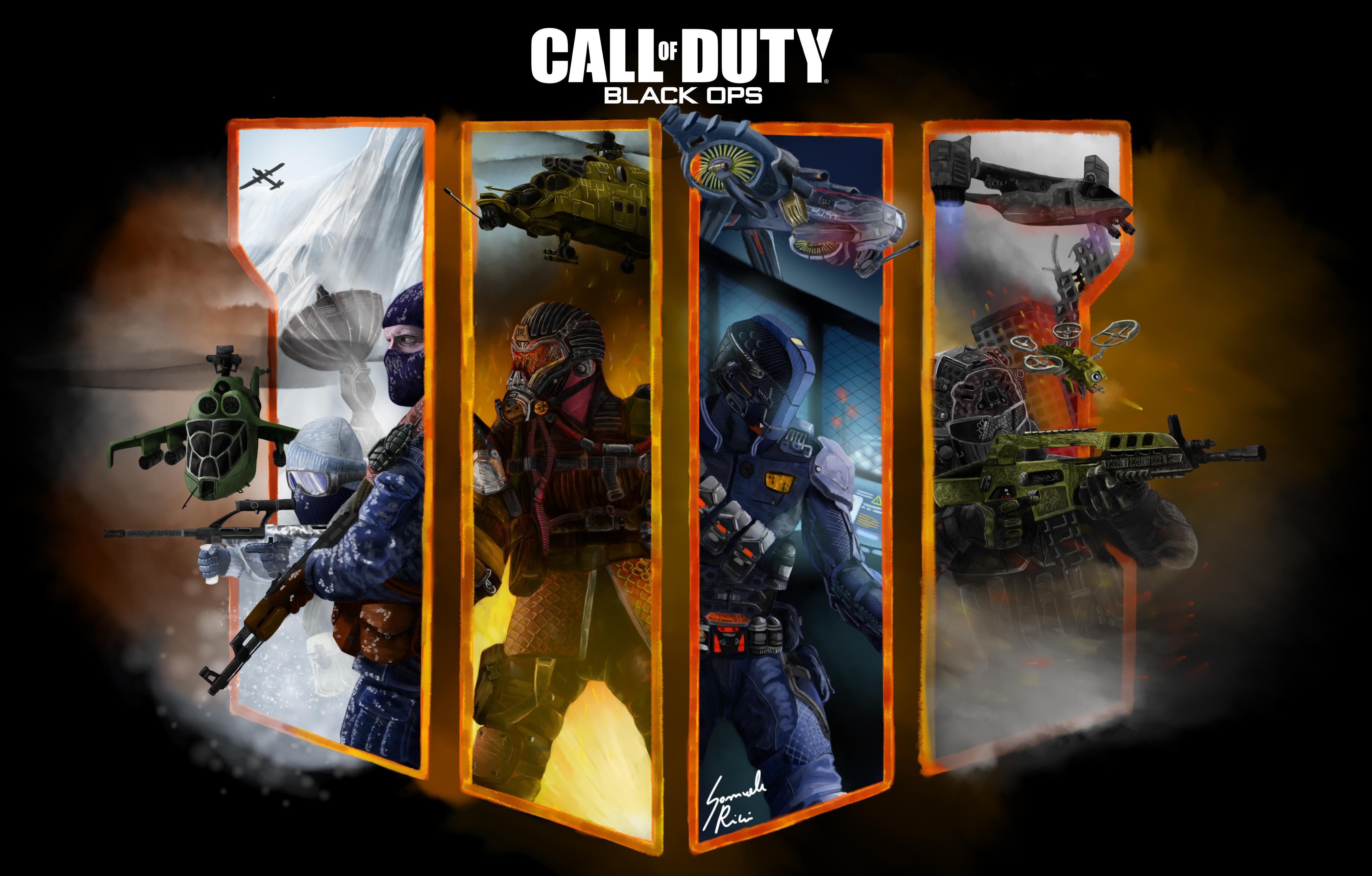 Call Of Duty Black Ops 4 Fan Art 4k Hd Games 4k Wallpapers Images