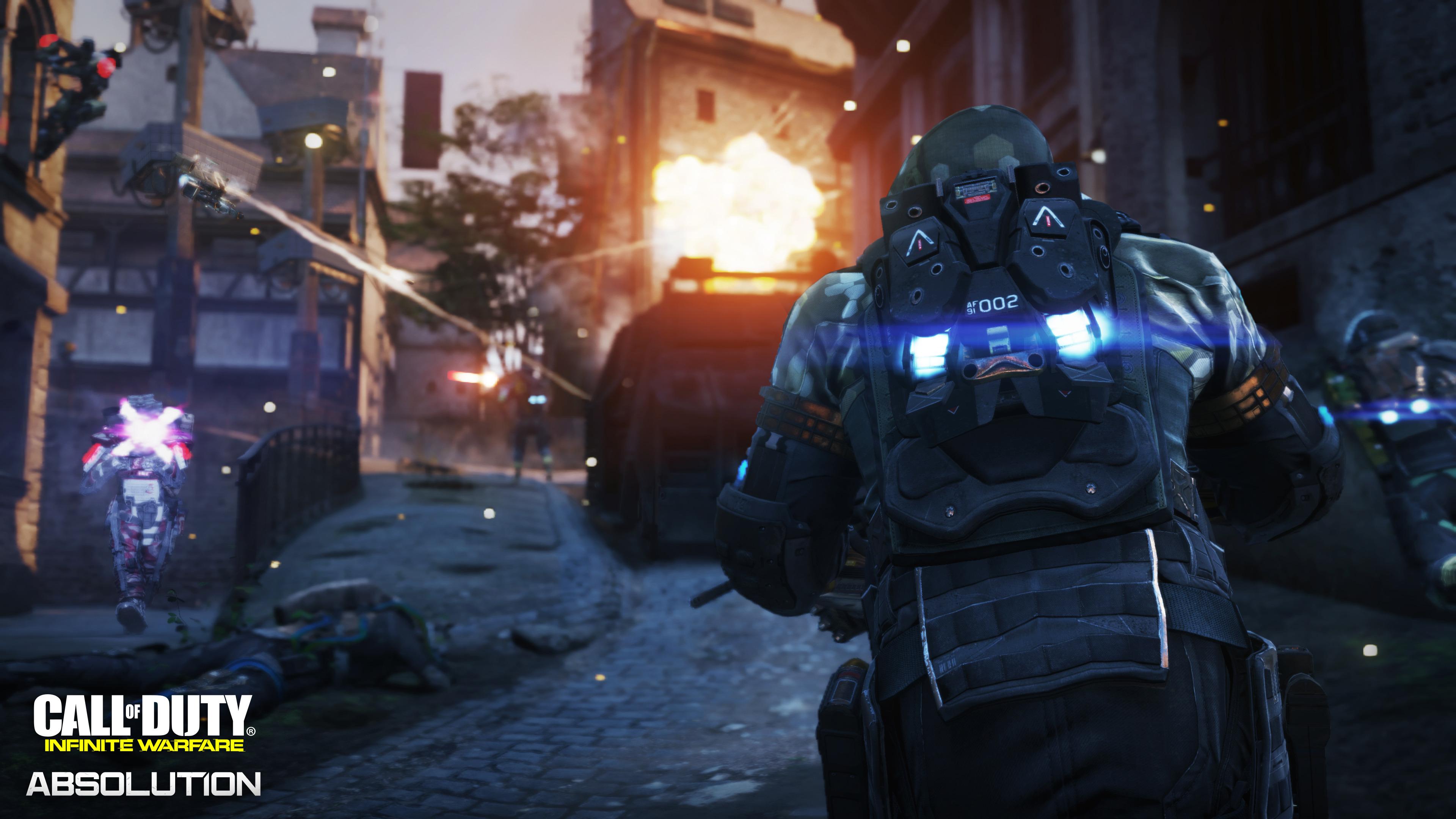 Cod Infinite Warfare Wallpaper: Call Of Duty Infinite Warfare Absolution Dlc3 2017, HD