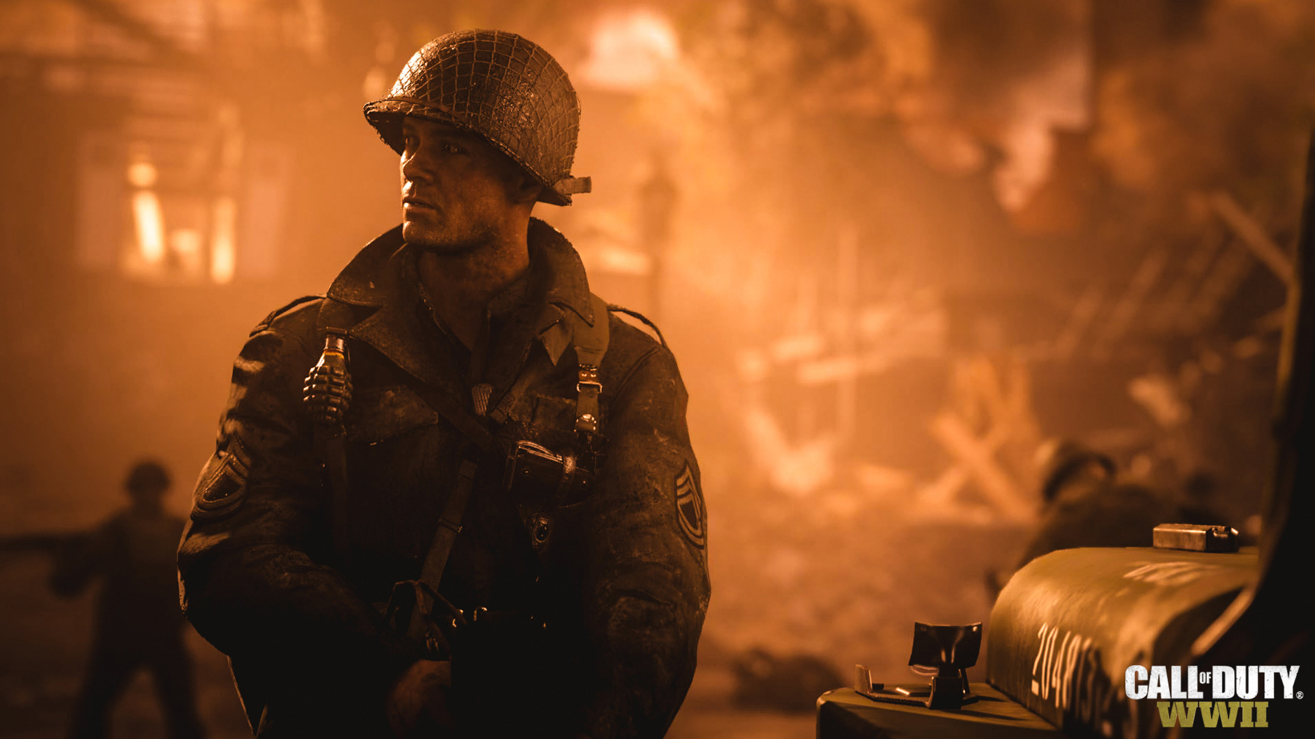 Call Of Duty Wwii Soldier Hd Games 4k Wallpapers Images