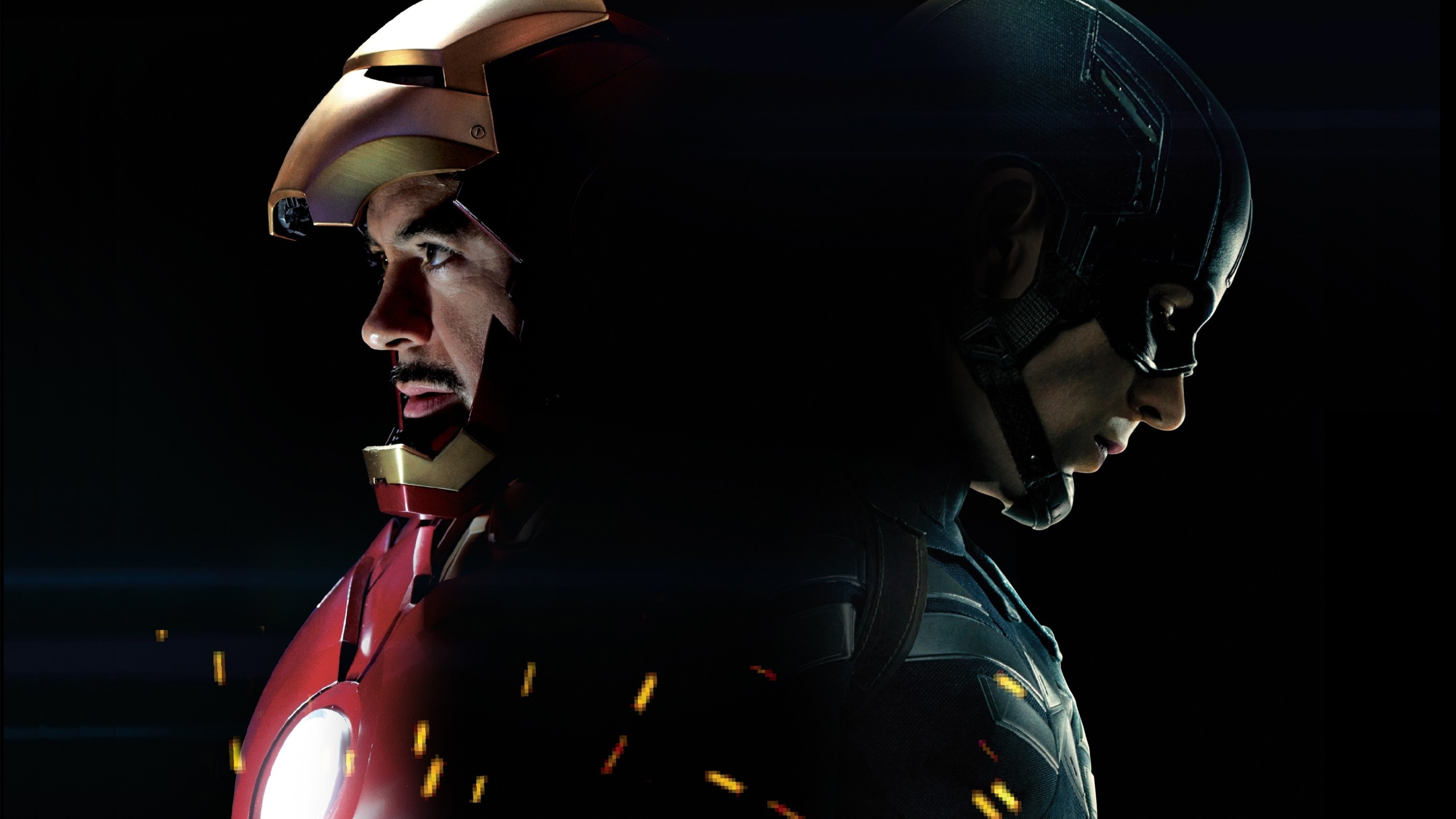 captain america vs iron man wallpaper  Captain America 3 Civil War Iron Man, HD Movies, 4k Wallpapers ...
