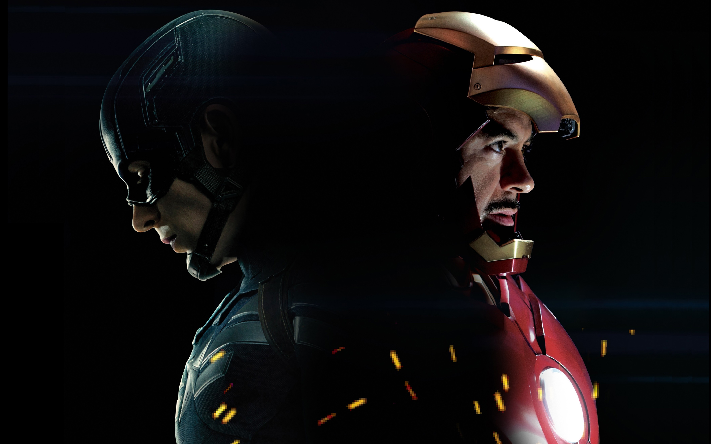 Captain America And Iron Man 1024x768 Resolution