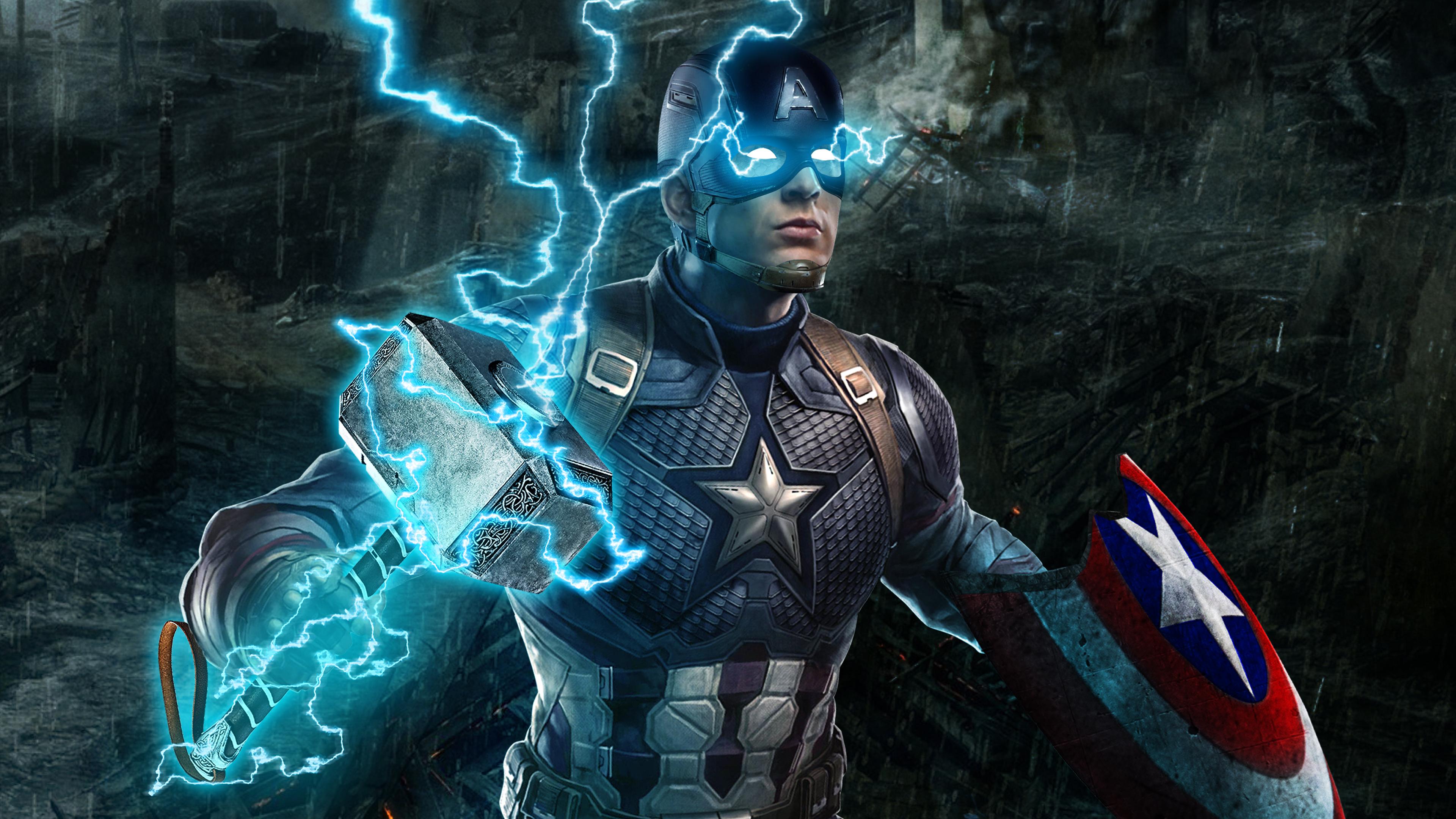 Captain America Avengers Endgame 4k, HD Superheroes, 4k ...