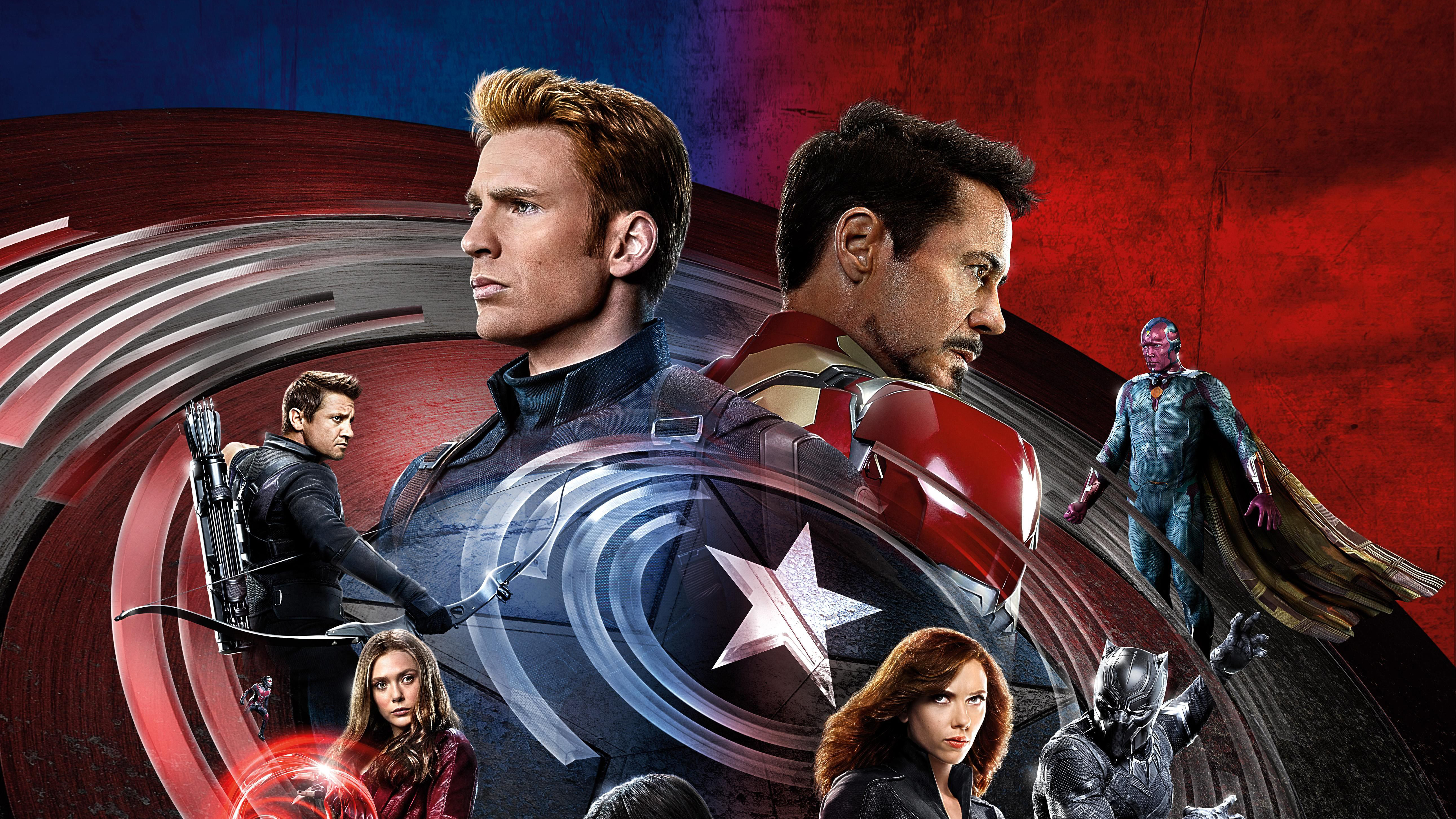 2560x1440 Captain America Civil War 4k 1440P Resolution HD ...