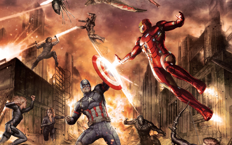 Captain America Civil War Wallpapers Hd: Captain America Civil War Comic, HD Movies, 4k Wallpapers