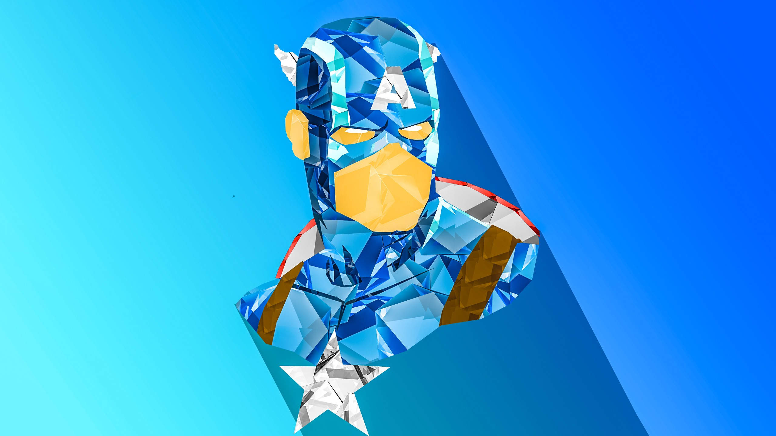 Captain Marvel Fantasy Art Wallpapers Hd Desktop And: Captain America Digital Art, HD Artist, 4k Wallpapers