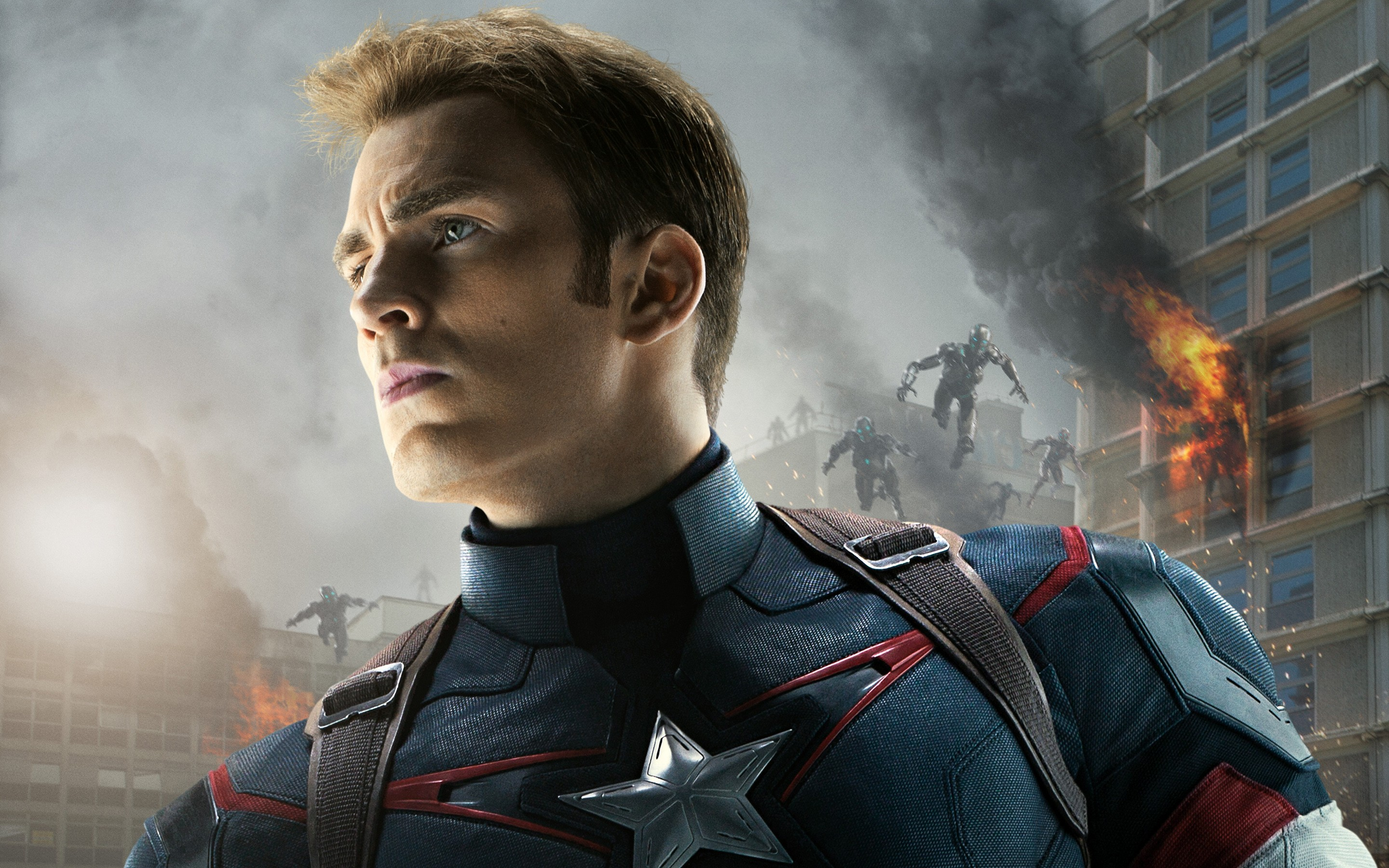 Captain America In Avengers Age Of Ultron