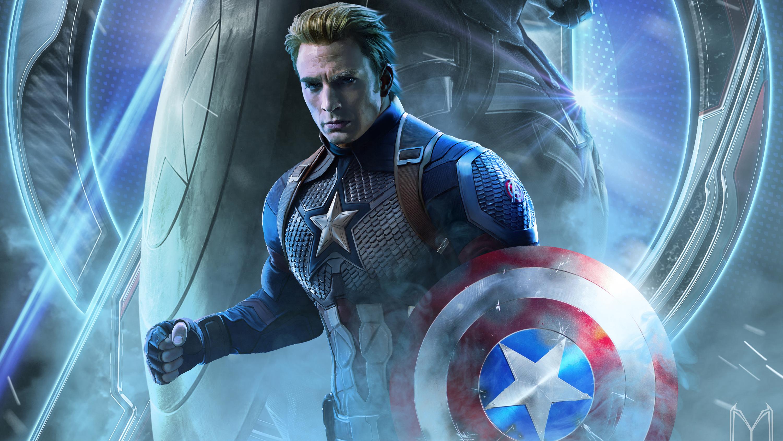 Captain America In Avengers Endgame 2019, HD Movies, 4k ...