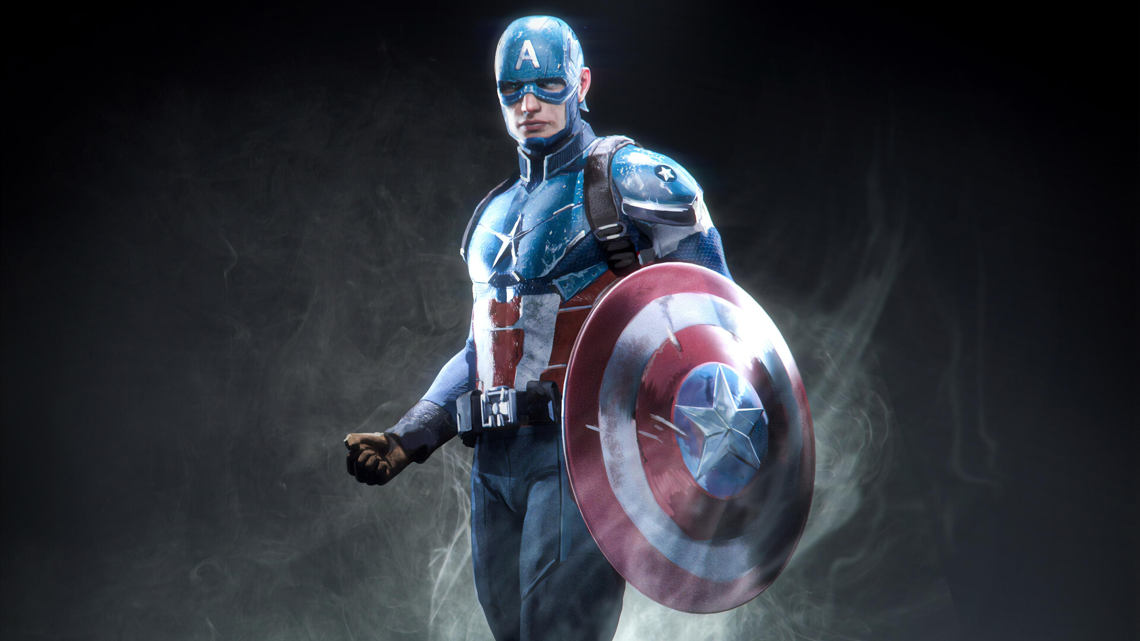 Captain America Marvel Superhero, HD Superheroes, 4k ...