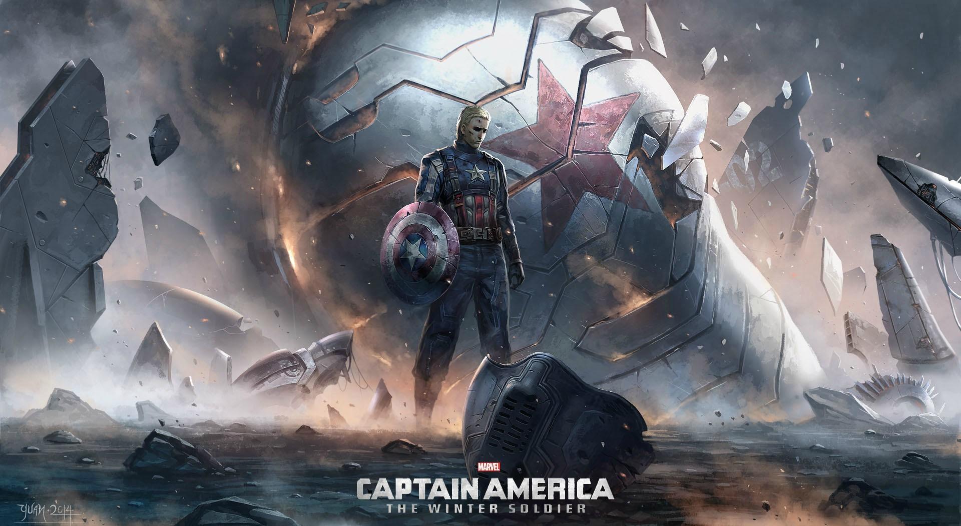 Captain America The Winter Soldier Art, HD Superheroes, 4k ...