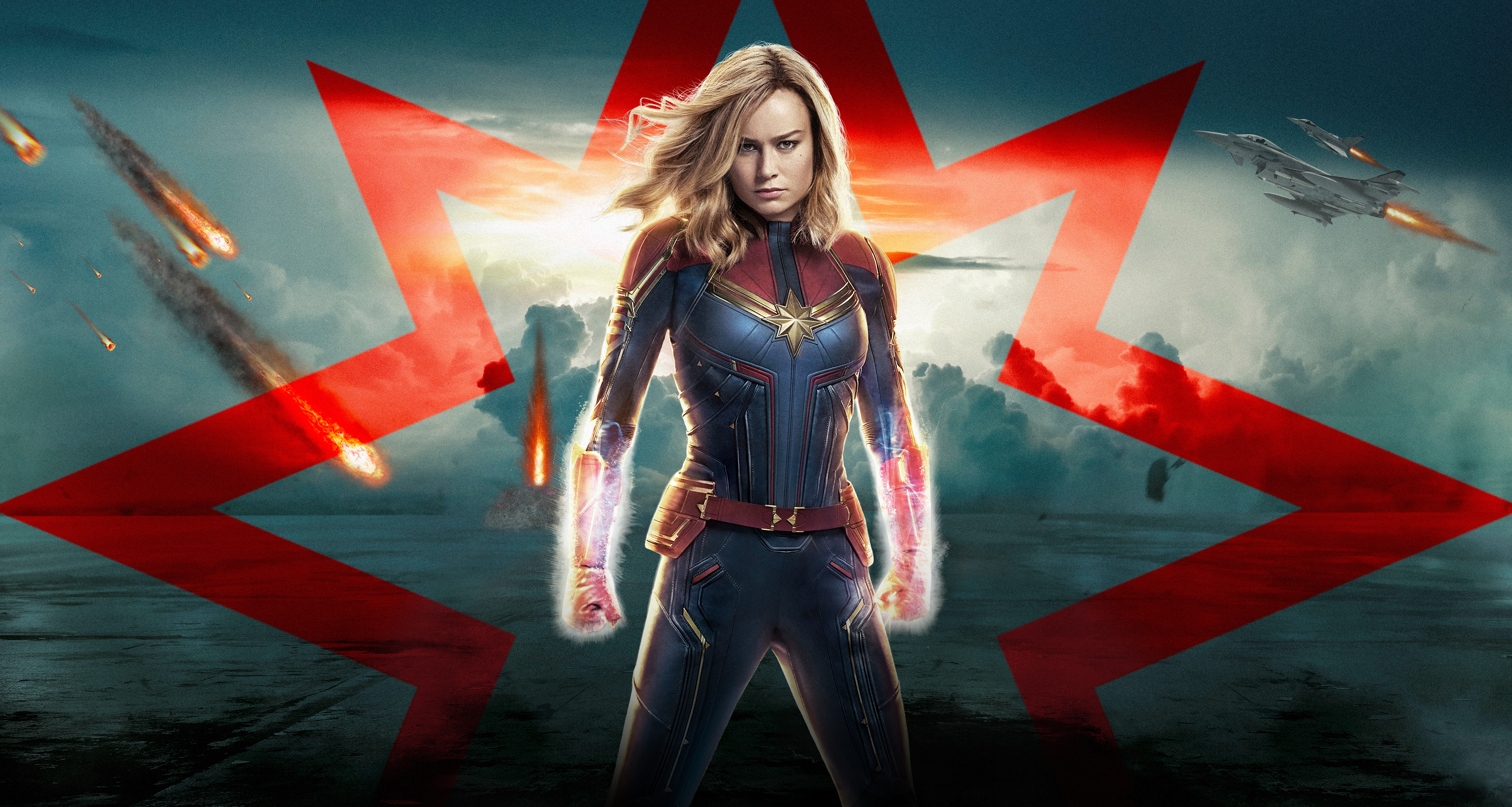 Captain Marvel 5k 2019 Poster Hd Movies 4k Wallpapers Images