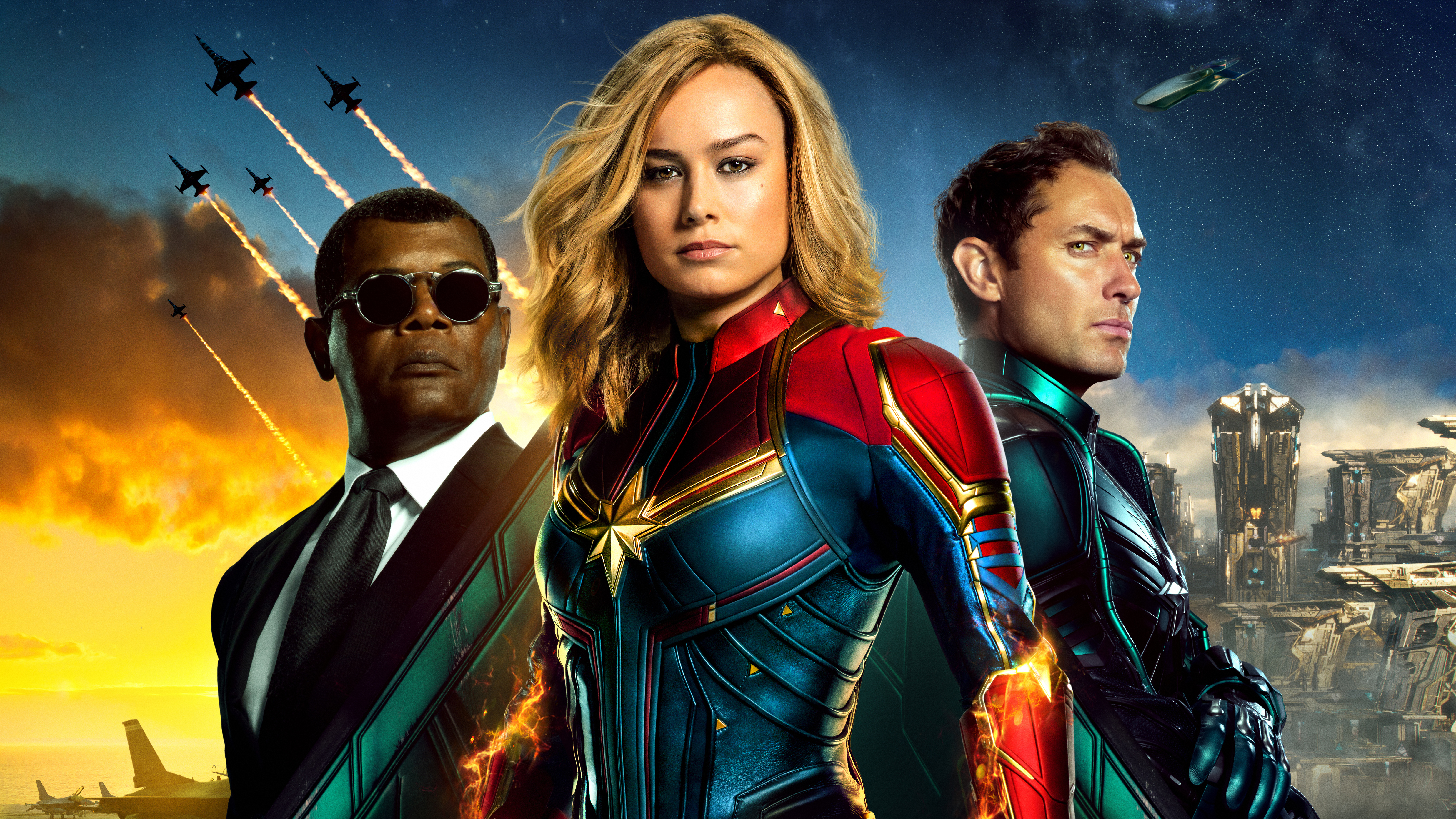 Captain Marvel 5k New Poster Hd Movies 4k Wallpapers Images