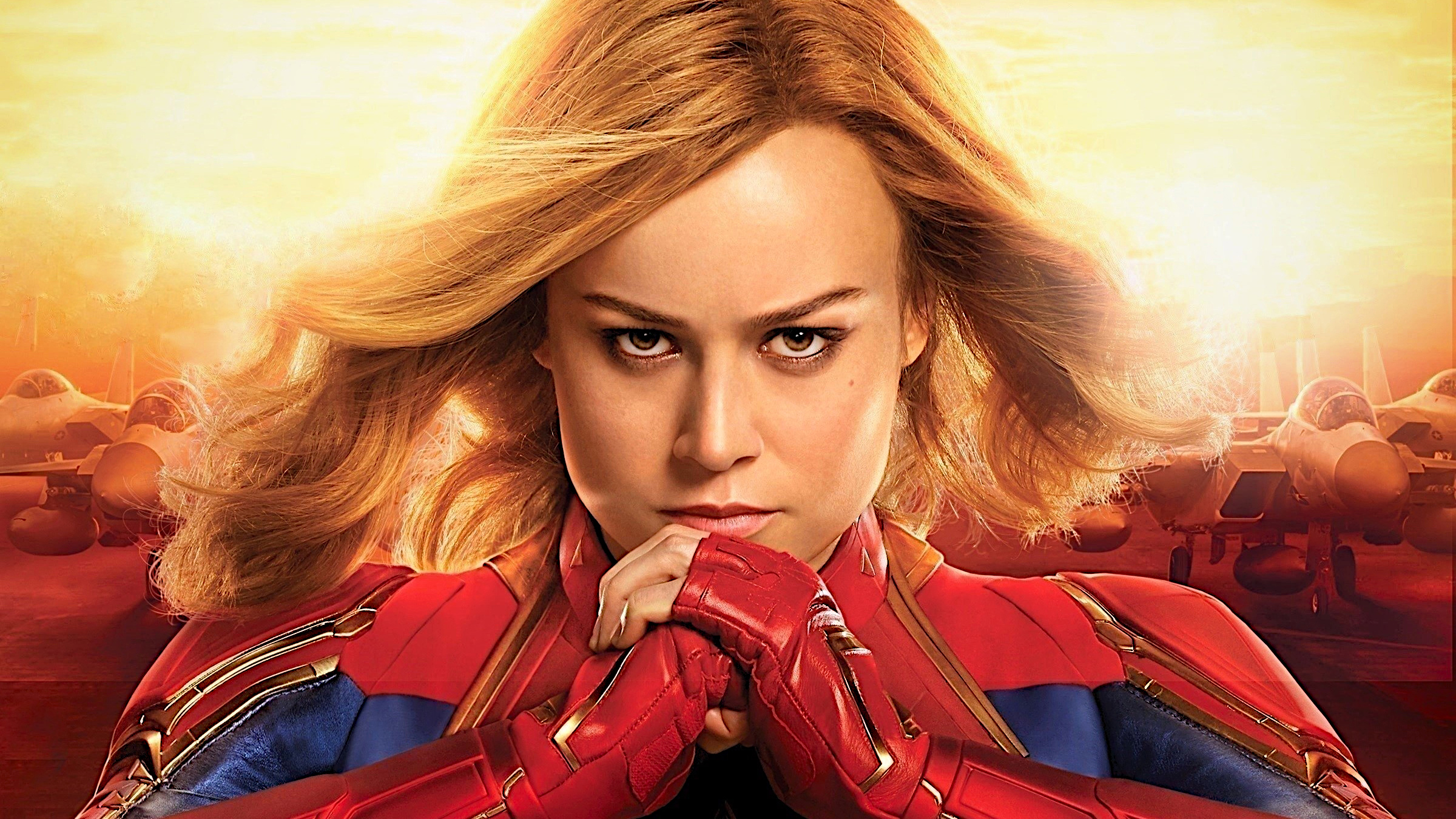 Captain Marvel Brie Larson Hd Movies 4k Wallpapers Images