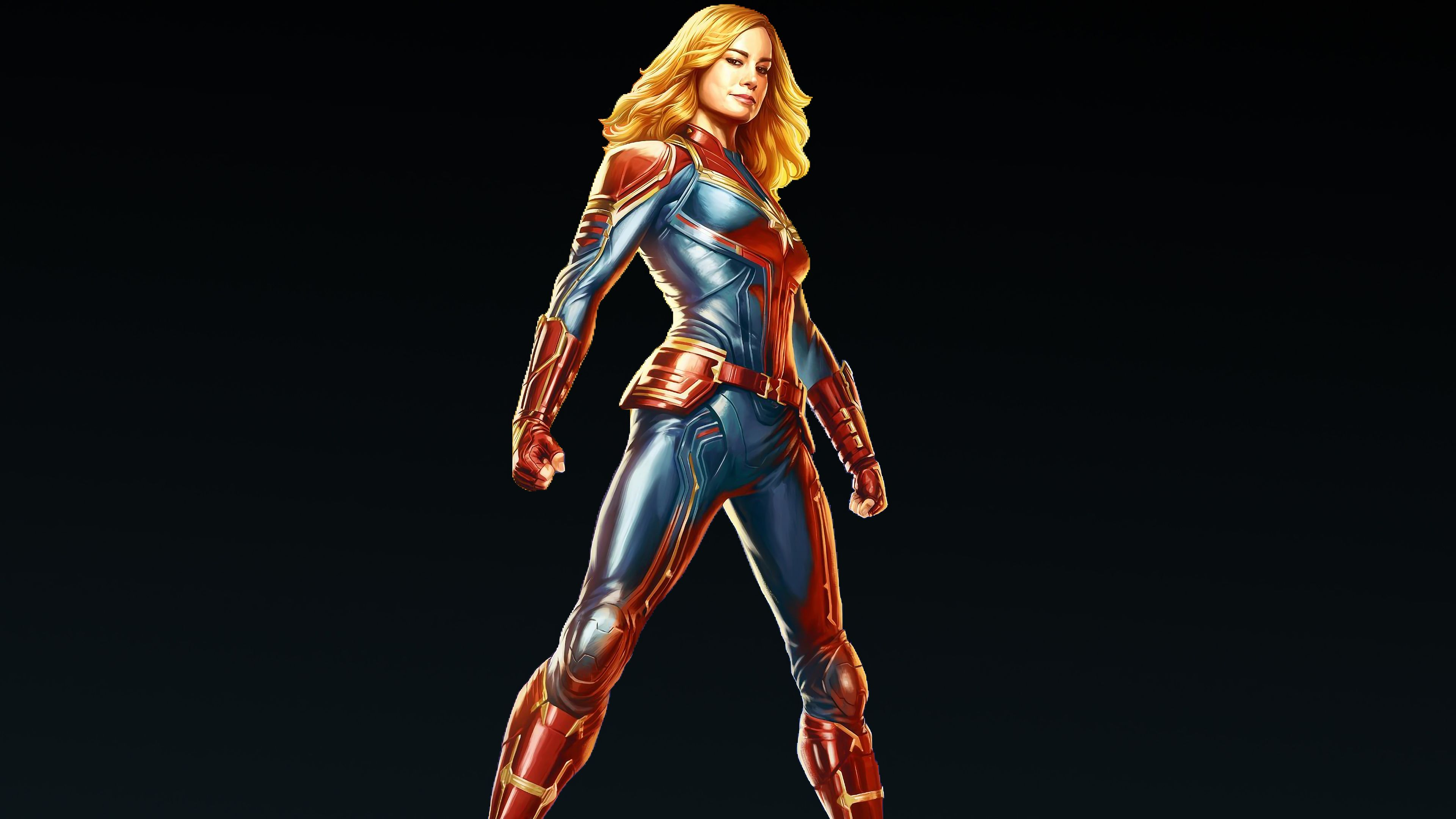 1280x2120 Pubg Game Girl Fanart Iphone 6 Hd 4k Wallpapers: 1280x2120 Captain Marvel Carol Danvers 4k IPhone 6+ HD 4k