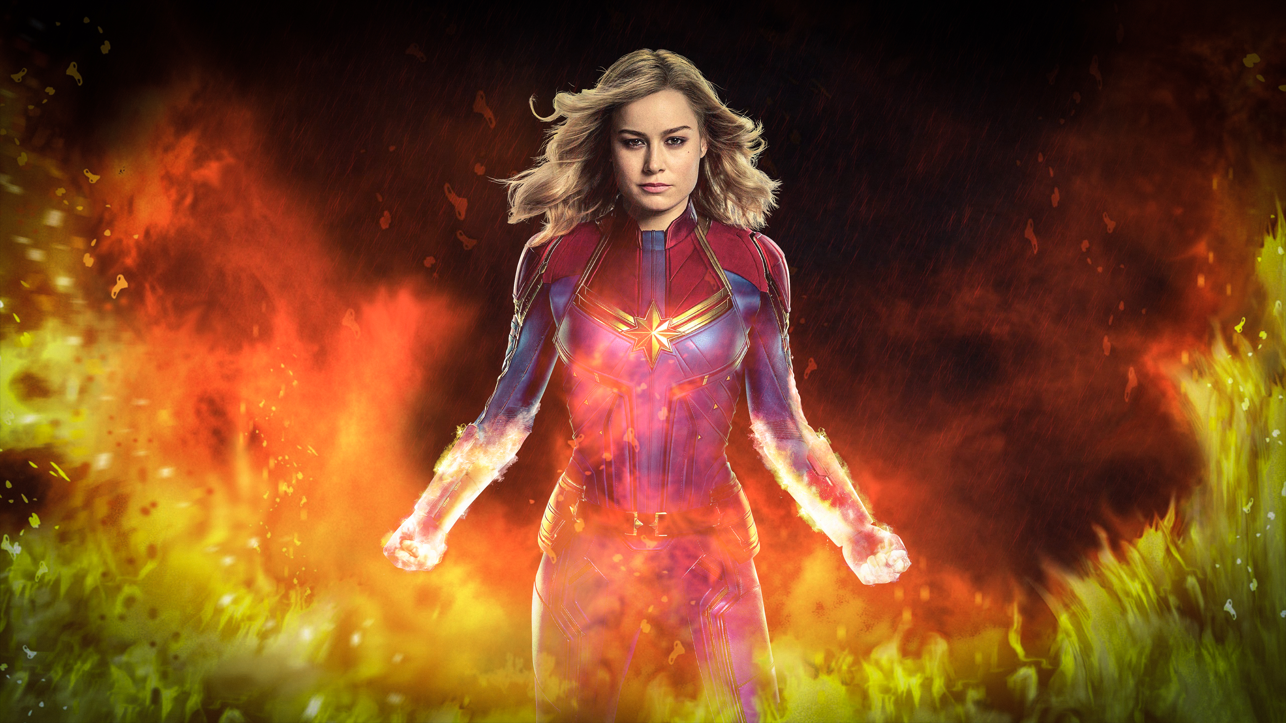 captain marvel movie 2019 4k art, hd movies, 4k wallpapers, images