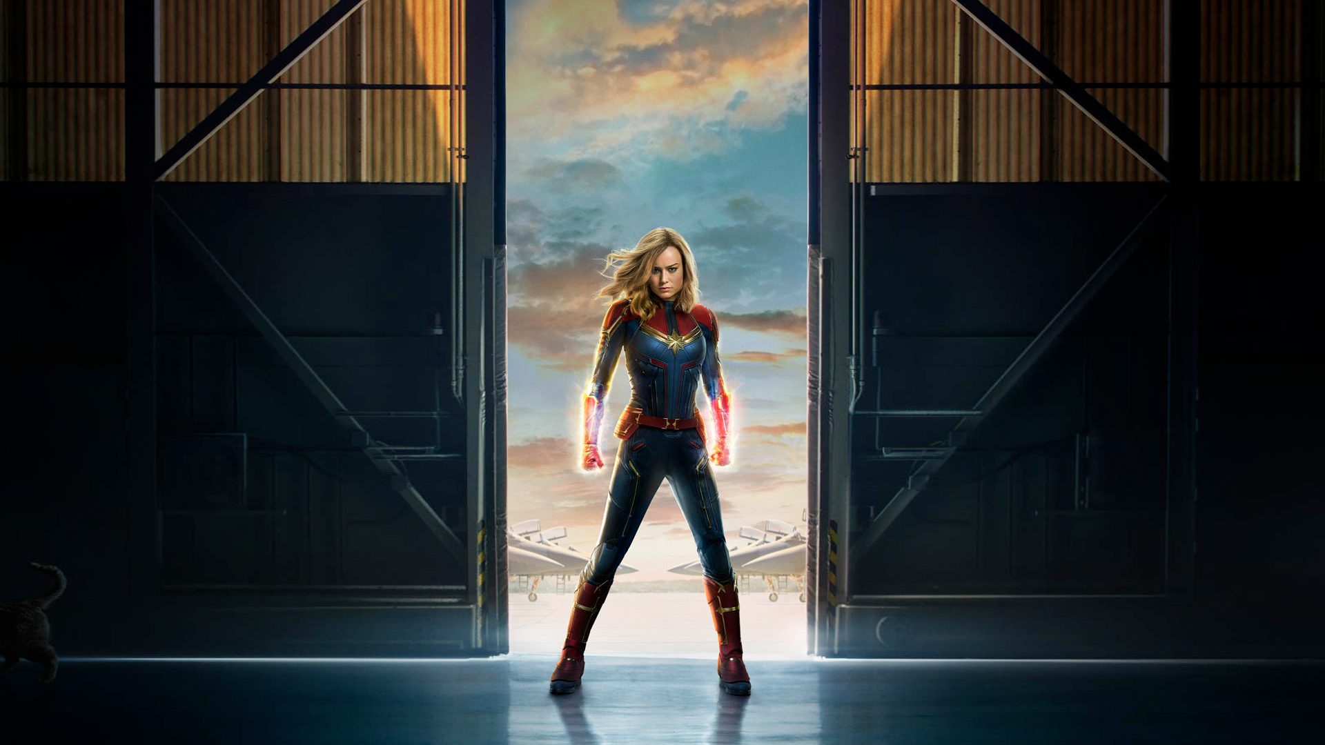 Movie Poster 2019: Captain Marvel Movie 2019 Offical Poster, HD Movies, 4k