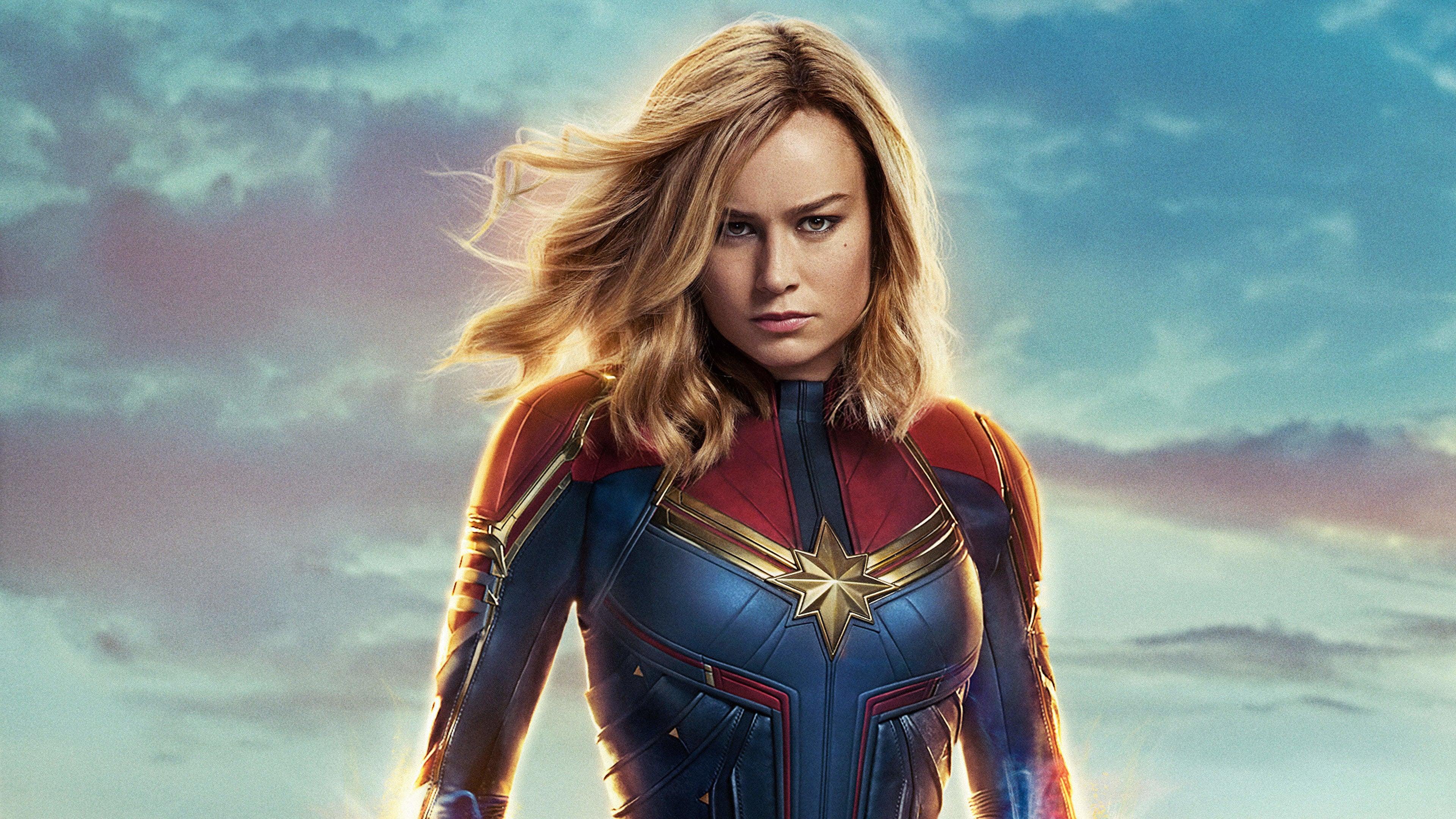 Captain Marvel Fantasy Art Wallpapers Hd Desktop And: Captain Marvel Movie 4k 2019, HD Movies, 4k Wallpapers