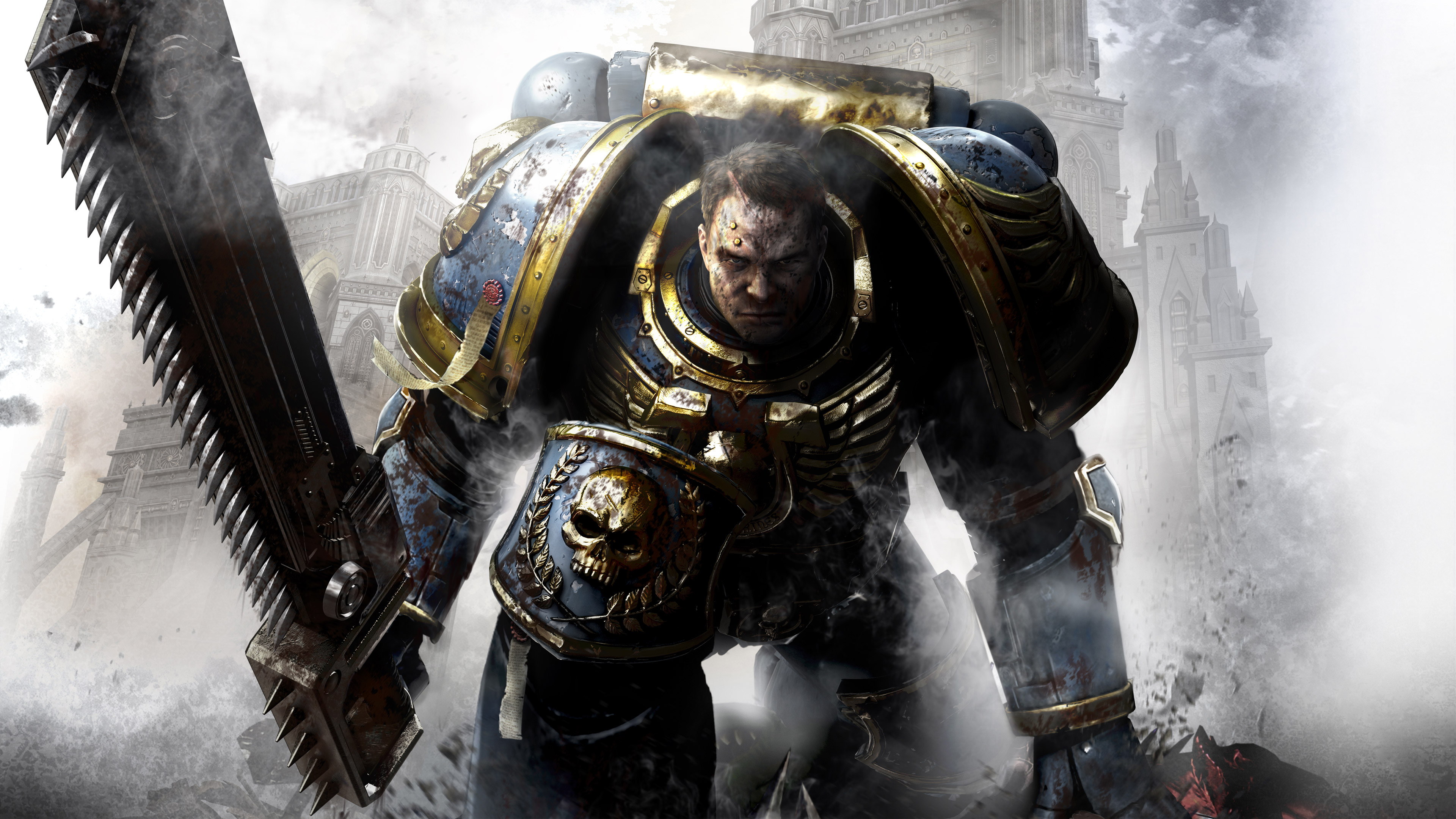 Captain titus warhammer 40000 space marine hd games 4k wallpapers images backgrounds photos - Titus wallpaper ...